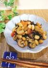 大豆とひじきの具だくさん煮+.。.:*・