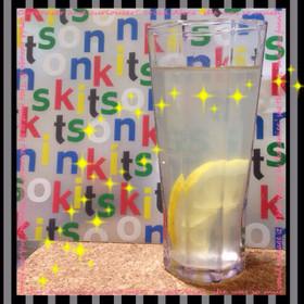 ハチミツレモンのスポーツドリンク