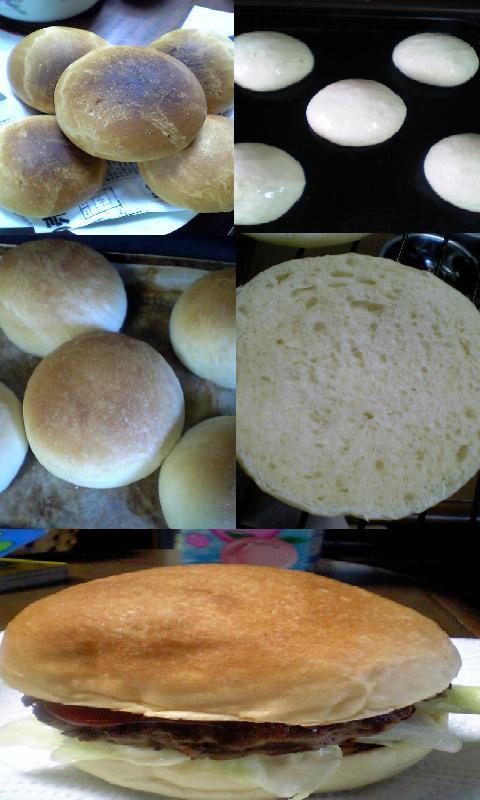 薄力粉の食事パン