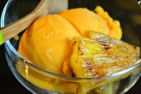 ブラジルのデザート 焼きパイナップル