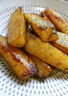 ホクホク山芋のバター醤油焼き