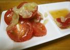 トマト 甘酢しょうが・寿司のガリ・和え