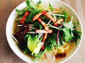 マルちゃん正麺★塩味で涼サラダ麺