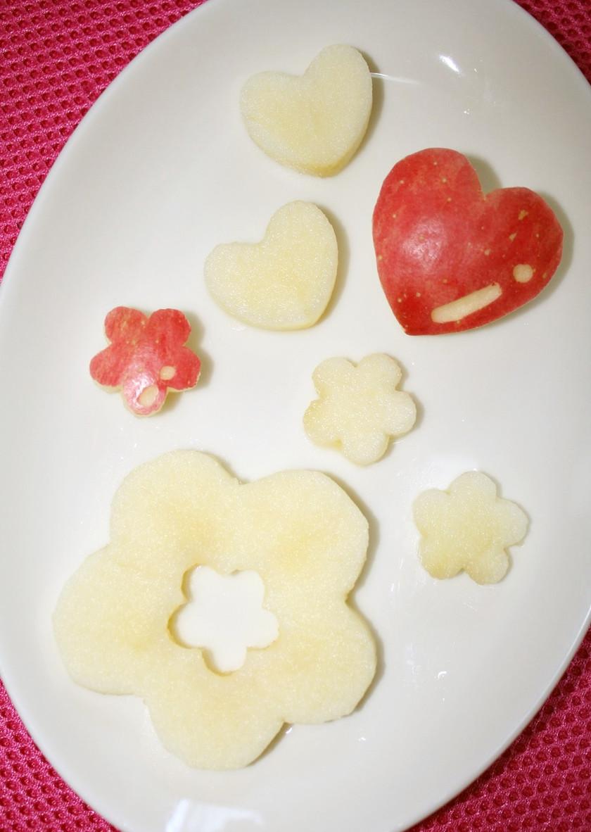 ✿お弁当にも♡りんごの飾り切り✿