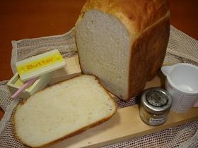 コンニャクで☆モチモチ油脂無食パン