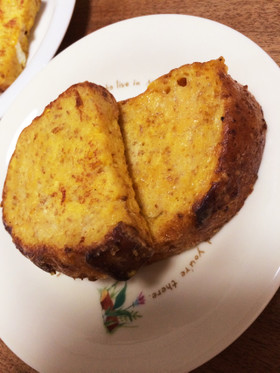 ライ麦&豆乳で、フレンチトースト。