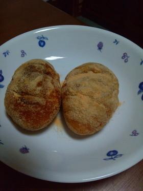 調理室ヨリ〜好き★揚げパン-きな粉編♪