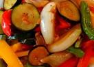酢醤油でうま~い香味野菜のコク旨炒め