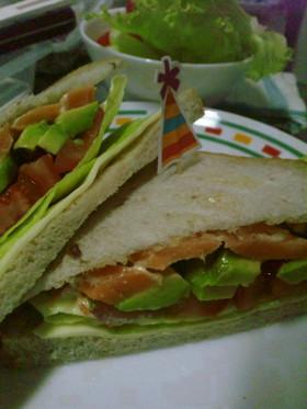おうちで、カフェ風サンドイッチ♪