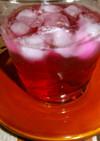 体が元気になりそうな、紫蘇ジュース