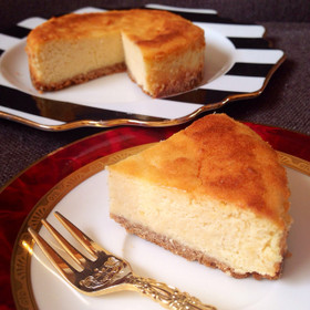 極上濃厚♡おからベイクドチーズケーキ