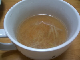 もやしとコーンのスープ
