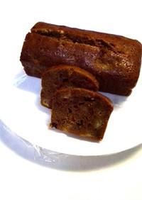 黒糖で、しっとりパウンドケーキ