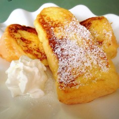 朝食に簡単ふわふわフレンチトースト♡