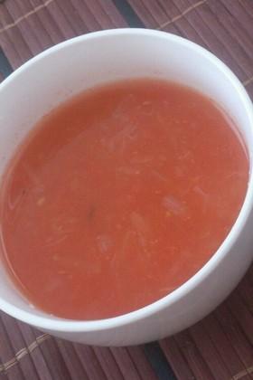 シナモンの香りのトマトスープ