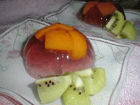 Peach in jelly ざくろ風味