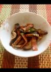 椎茸とベーコンのバターポン酢焼き☆