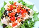 皮蛋豆腐(ピータン豆腐)サラダ