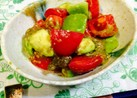アボカド&トマトの簡単とろろ昆布サラダ♪