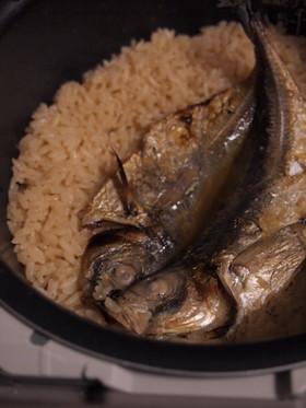マルタさんの☆アジの開きの炊き込みご飯