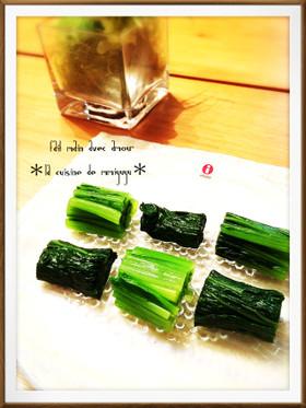 *茹で方&保存法!小松菜・ほうれん草*