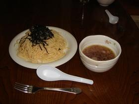 基本の明太子スパゲティ
