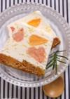 3種のシトラスアイスケーキ
