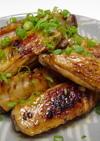 鶏スペアリブの大葉にんにく醤油炒め♪