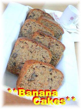 ☆BANANA CAKES☆