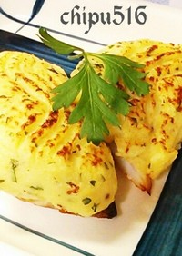 20分簡単豪華に見える白身魚のポテト焼き