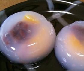 片栗粉で簡単!フルーツ水まんじゅう