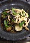 豚肉と野菜の豆豉炒め