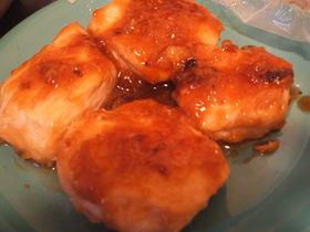 鶏胸肉でこってりにんにく照り焼き
