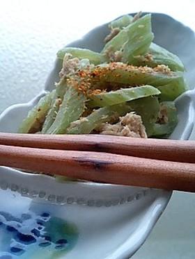 ふきのシャクシャクツナ炒めU・ェ・U