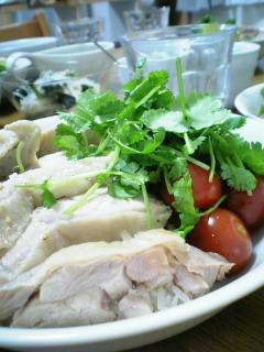 ふっくら鶏モモ肉のカオマンガイ