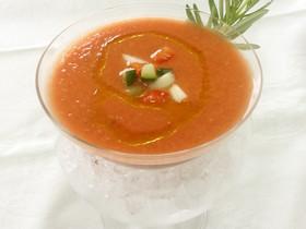 夏野菜の冷たいスープ☆ガスパチョ