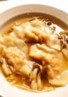 ☺海老と玉子の水餃子入り中華スープ☺