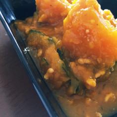 簡単!かぼちゃ&鶏ひき肉のそぼろ煮