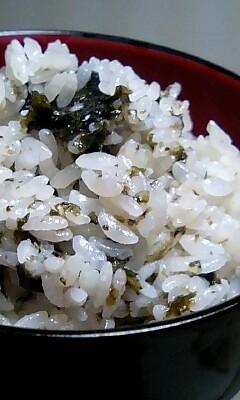 海苔♪のりぃ♪炊き込みご飯U・ェ・U