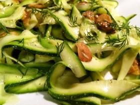 簡単前菜☆ズッキーニのさっぱり夏サラダ