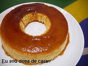 ミキサーで簡単♪ブラジルの濃厚プリン♡