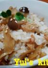 ◆簡単!鶏ゴボウときのこの混ぜご飯♪◆