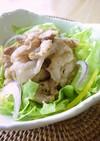 【塩レモン】で、ご飯に合う豚肉炒め。