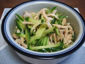 ☆即席1品☆ササミキュウリの中華風サラダ