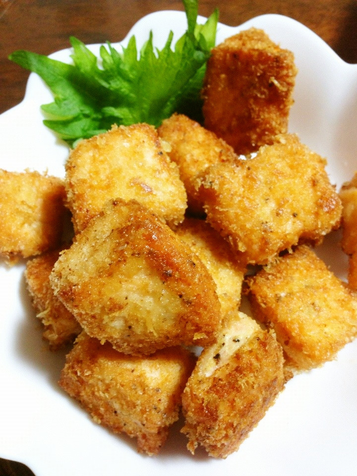 お弁当に♡サーモンのマヨフライ♡