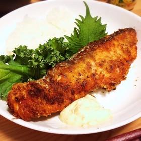 マヨで簡単♪鮭ムニエル〜パン粉ver.〜