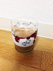 インスタントコーヒーでアイスコーヒーの写真