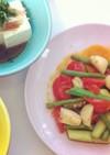 ホタテの簡単野菜炒め