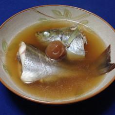 お水とお醤油だけ☆シンプル煮魚(イサキ)