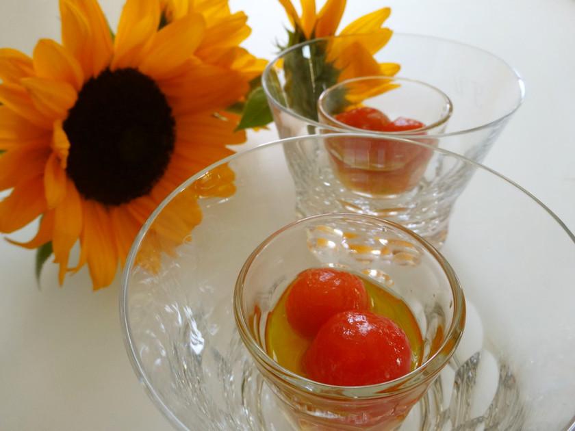 トマトグラッセ ~夏の爽やかなおもてなし